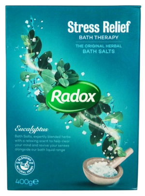 Radox Stress Relief Herbal Bath Salts 400g