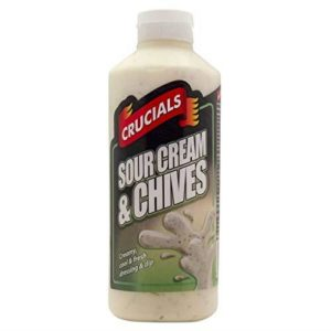 Crucials Sour Cream & Chives 500ml