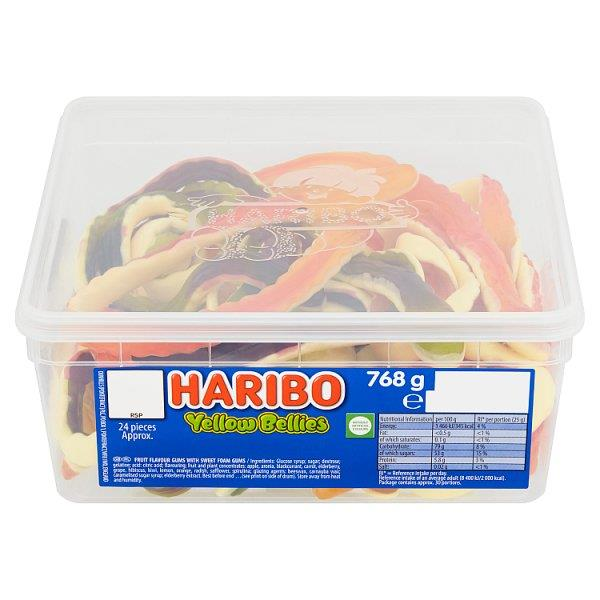 Haribo Yellow Bellies - 768g