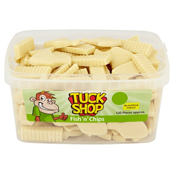 Tuck Shop Fish 'n' Chips - 120 Pieces