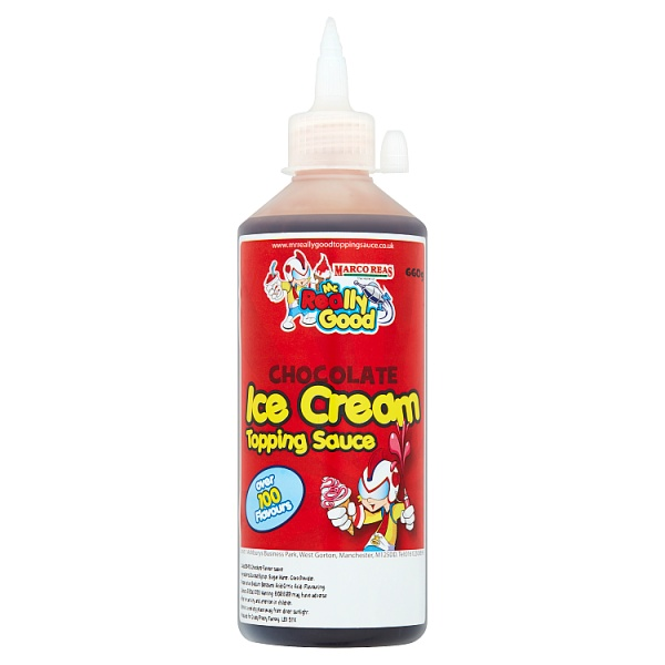Mr. Really Good Chocolate Ice Cream Topping Sauce 660g