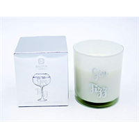 Gin scented candle